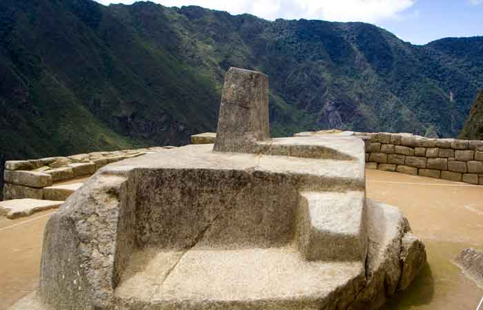 Granite Stone Machu Picchu : Machu picchu what is the intihuatana stone explorandes